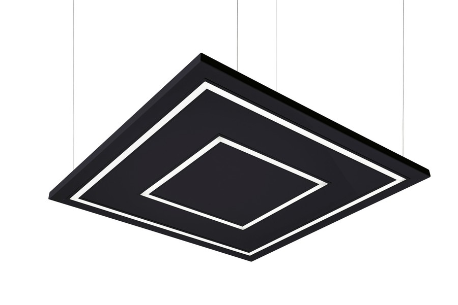 UDESIGN W SQUARE IN SQUARE BLACK